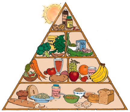 vegan food pyramid