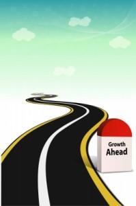 road with milestone