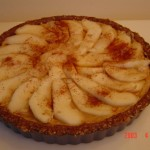 Walnut Pear Torte from Carolyn&#8217;s Recipe Corner (raw vegan dessert)
