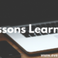 lessons learned daily blogging